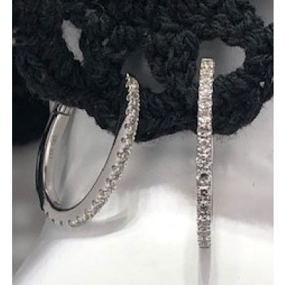 Earring Dia single hoop