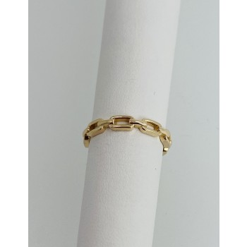 Chain Link Gold Band